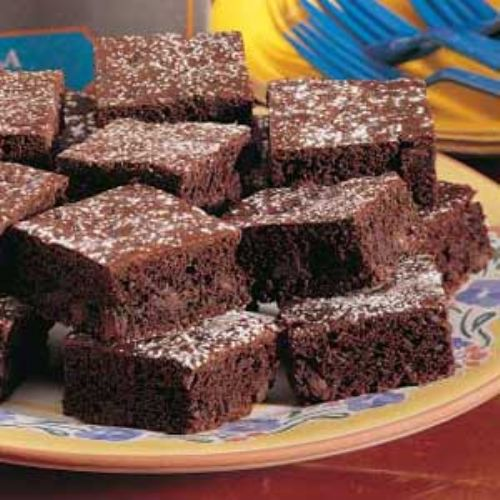 Triple Fudge Brownie